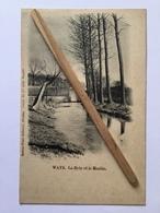 GENAPPE -WAYS « LA DYLE ET LE MOULIN» Panorama 1900( Édit Flore Godeaux.Nivelles). - Genappe