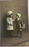 (515) Vive Marie - Meisje En Jongentje Geven Elkaar De Hand - 1911 - Fête Des Mères