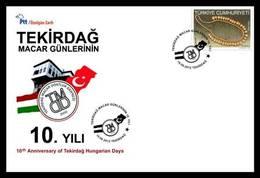 AC - TURKEY FDC - 10th ANNIVERSARY OF TEKIRDAG HUNGARIAN DAYS Tekirdag, 15 DECEMBER 2012 - 1921-... República