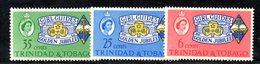 APR756 - TRINIDAD TOBAGO 1964 , Serie Yvert N. 200/202 ***  MNH  (2380A) . Scout - Trindad & Tobago (1962-...)