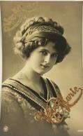 (517) Vive Marie - Mooie Dame - Witte Parels - 1911 - Fête Des Mères