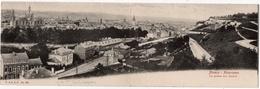 Namur : Carte Panoramique Double Format : Vue Panorama Avec Citadelle (Edit. V.&D., Bruxelles, N°283) - Namur