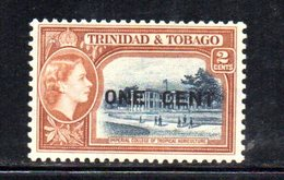 APR743 - TRINIDAD TOBAGO 1956 , Serie Yvert N. 172 ***  MNH  (2380A) . - Trindad & Tobago (1962-...)