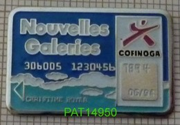 CARTE COFINOGA NOUVELLES GALERIES  CREDIT BANQUE - Banken