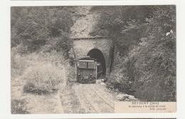 Revigny.39.Jura.Le Tramway à La Sortie Du Tunnel. - Autres Communes