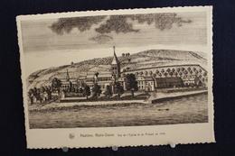 I - 64 / Lot 3 Cartes - Namur - Hastière, Notre-Dame, Vue De L'Église Et Du Prieuré En 1740 / Ciculé - Hastière