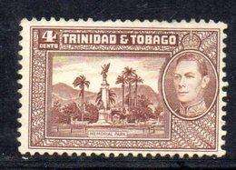 APR757 - TRINIDAD TOBAGO 1938 , Yvert N. 141  *  Linguella Nera Da Contatto  (2380A) . - Trindad & Tobago (1962-...)