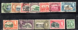APR2057 - TRINIDAD TOBAGO 1938 , Alcuni Valori Usati  (2380A) . - Trindad & Tobago (1962-...)
