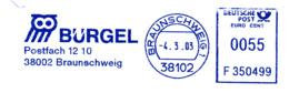 Freistempel 7541 Eule Bürgel Inkasso - Poststempel - Freistempel