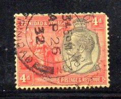 APR181 - TRINIDAD TOBAGO 1922 , Yvert N. 114A  Usato  (2380A) . - Trindad & Tobago (1962-...)