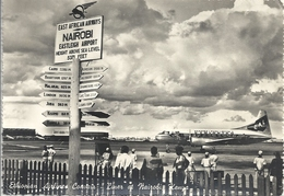 CPSM Kenya Nairobi Ethiopian Airline & Convair - Liner At Nairobi - Aérodrome Et Avion - Vliegvelden