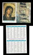 Calendarietto Sacro 2003 - Santuario Maria SS.ma Di Montevergine ( Avellino ) - Buon Natale - Calendari