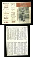 Calendarietto Pubblicitario 2000 - Picciotti Boutique ( Salerno ) - Calendari