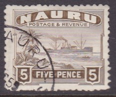 Nauru 1937 Freighter P.11 SG 33B Used - Nauru