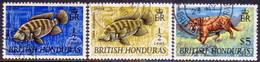 British Honduras 1969-70 SG #276,77,78 Part Set (3 Stamps Of 6) Used Wmk Sideways - British Honduras (...-1970)