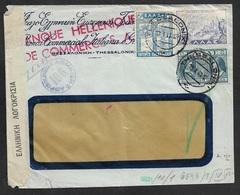 1941 - Zensurpostbeleg Griechenland Doppelzensur Griechenland Deutschland - OKW Wien (g) WWII - GREECE WWII Multi Censor - Griechenland