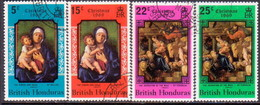 British Honduras 1969 SG #279-82 Compl.set Used Christmas. Paintings - British Honduras (...-1970)