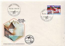 Switzerland Stamp On FDC - Bridges