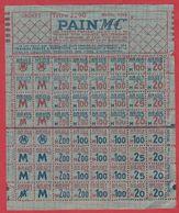 Ticket De Rationnement. Ticket. Avril 1945. Pain MC. - Vieux Papiers