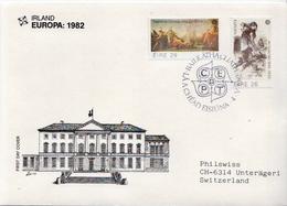 Ireland Pair On Used FDC - 1982