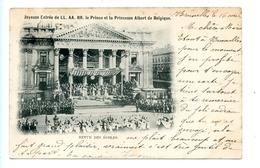 Joyeuse Entrée De LL. AA. RR. Le Prince Et La Princesse Albert De Belgique. - Revue Des écoles  (1900) Bruxelles - Fêtes, événements