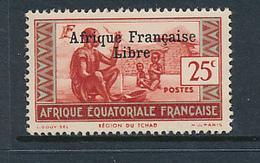 FRANCE AEF MAURY 143 MNH PARAFIN GUM - Neufs