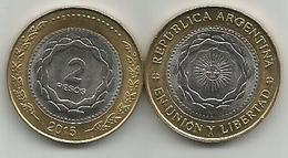 Argentina 2 Pesos 2015. - Argentine
