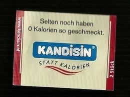 Bustina Dolcificante Ipocalorico ( Germania ) - Kandisin   ( Sucre-Zucker-Akùcar-Sugars ) - Zucchero (bustine)