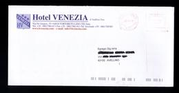 Affrancatura Meccanica Rossa - Hotel Venezia Teramo Da Euro 0.31 - Affrancature Meccaniche Rosse (EMA)