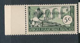 FRANCE AEF MAURY 139 MNH - Neufs