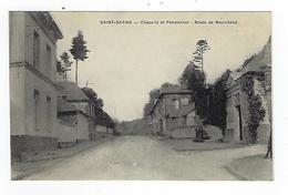 CPA 76 Saint Saens Chapelle Et Pensionnat Route De Neufchatel - Saint Saens