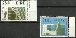 Ireland - 1987 Europa (architecture) MNH **  SG 667-8   Sc 689-90 - 1949-... Republic Of Ireland