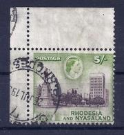 Rhodesien Und Nyassaland 31 Gest. - Gran Bretagna (vecchie Colonie E Protettorati)