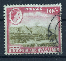 Rhodesien Und Nyassaland 32 Gest. - Gran Bretagna (vecchie Colonie E Protettorati)