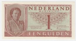 NETHERLANDS 1 GULDEN 1949 UNC NEUF Pick 72 - [2] 1815-… : Koninkrijk Der Verenigde Nederlanden