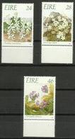 Ireland - 1988 Endangered Flora  3 MNH **  SG 698-700   Sc 720-2 - 1949-... Republic Of Ireland