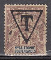 Nouvelle-Calédonie Tx 1A ° - Portomarken