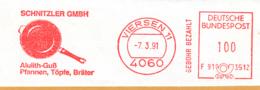 Freistempel 7565 Pfanne Topfe Bräter - Affrancature Meccaniche Rosse (EMA)