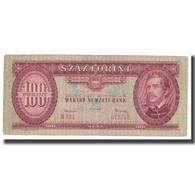 Billet, Hongrie, 100 Forint, 1962, KM:171c, TB - Hongrie