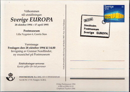 Sweden Cancelled Postal Stationery Card - Postal Stationery