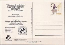 Sweden Mint Postal Stationery Card - Postal Stationery