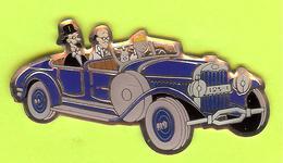 Pin's BD Tintin Milou Siclone Philémon Et Zlotzky En Voiture Bleue - 1F30 - Comics