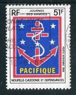 """TIMBRE Oblit. De 1984 De La Poste Aérienne """"51 F -  """"Journée Des Armées - PACIFIQUE"""" - Neukaledonien"""