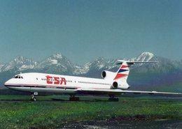 Tupolev TU-154M  -  CSA Czech Airlines - Poprad-Tatry 1971  -  CPM - 1946-....: Ere Moderne