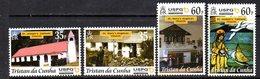 Tristan Da Cunha 2001 USPG Missionaries Set Of 4, MNH, SG 731/4 - Tristan Da Cunha