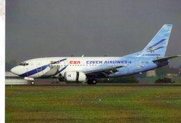 B 737-55S  -  CSA Czech Airlines - Prague 2006  -  CPM - 1946-....: Ere Moderne