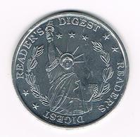 // TOKEN READER'S DIGEST - Pièces écrasées (Elongated Coins)