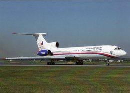Tupolev TU-154M  -   Czech Air Force  - Prague 1971  -  CPM - 1946-....: Ere Moderne