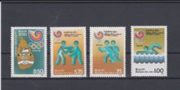 Sri Lanka 1988 Seoul Olympic Games 4 Vals. MNH/** (H57) - Summer 1988: Seoul