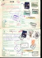 BELGIUM  WAYBILL  X2 - 1952-....